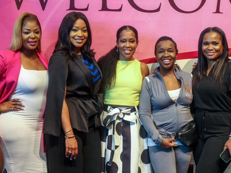Regina King, Lamman Rucker, Ginuwine & More at the Black Women's Expo in Atlanta presented by Toyota