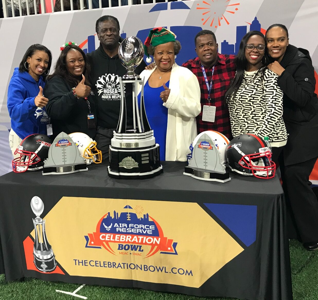 HOSEA HELPS NAMED OFFICIAL CHARITABLE PARTNER OF THE CELEBRATION BOWL
